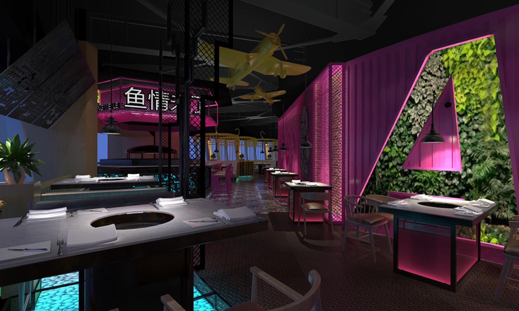 成都专业设计_餐厅火锅店装修设计_成都机械设计研究院酒楼四川图片
